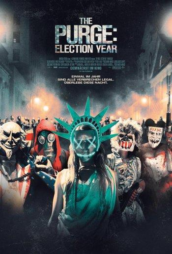 Poster zu The Purge 3: Election Year