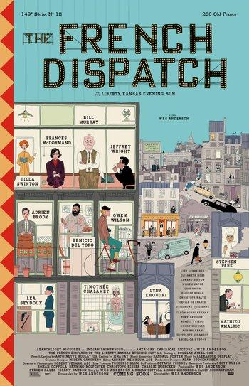 Poster zu The French Dispatch