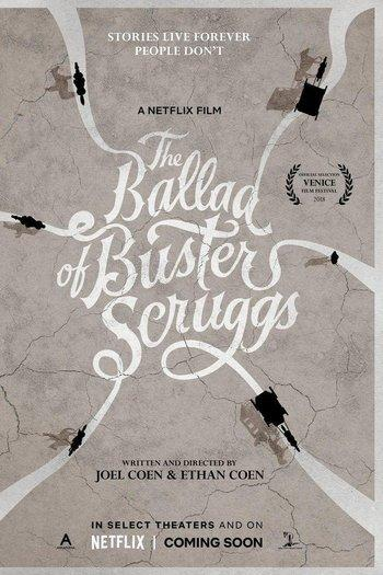 Poster zu The Ballad of Buster Scruggs