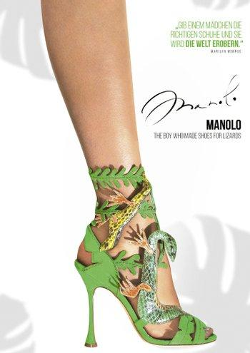 Poster zu Manolo: The Boy Who Made Shoes for Lizards