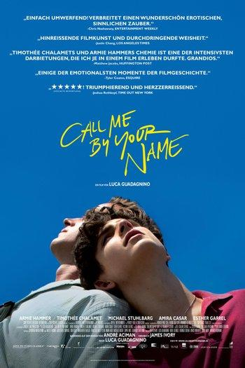 Poster zu Call me by your Name
