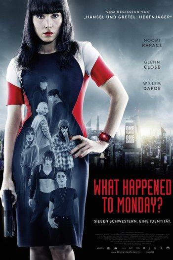 Poster zu What happened to Monday?