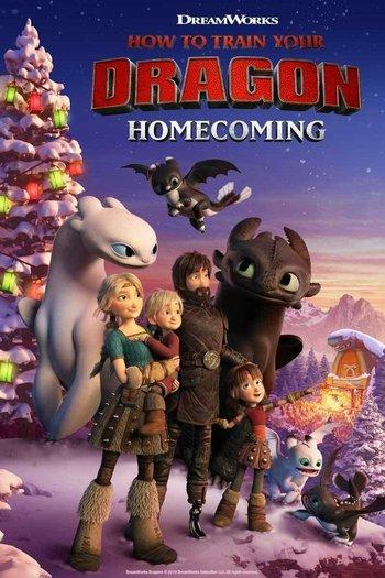 Poster zu How to Train Your Dragon: Homecoming