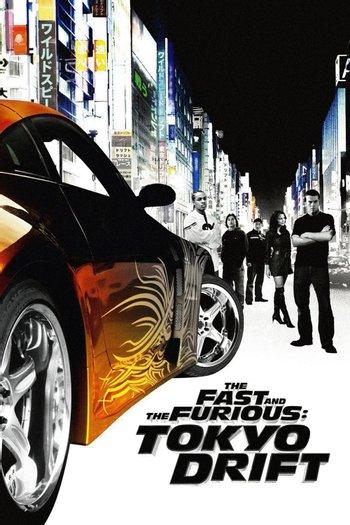 Poster zu The Fast and the Furious: Tokyo Drift