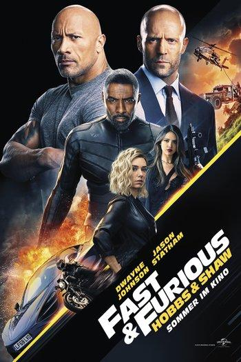 Poster zu Fast & Furious: Hobbs and Shaw