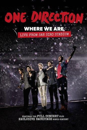 Poster zu One Direction: Where We Are