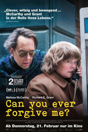 Poster zu Can You Ever Forgive Me?
